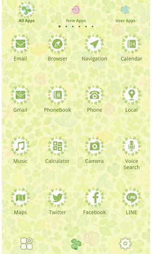 Spring Theme-Field of Clovers 1.0.0 Windows u7528 2