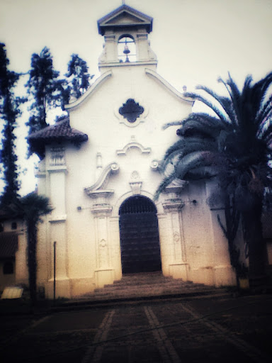 Foto antigua de la parroquia del culebron