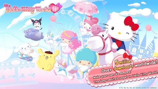 لقطات شاشة Hello Kitty World 2 Sanrio Kawaii Theme Park Game 1