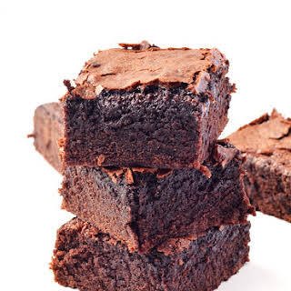 Easy One Bowl Cocoa Brownies.