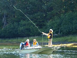 Photo: Fly fishing an estuary