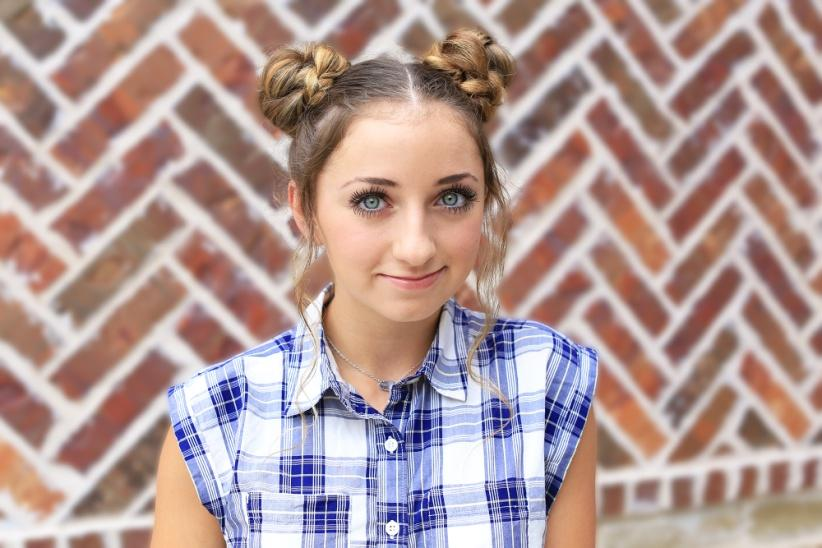 Double Braided Buns - Cute Girls Hairstyles
