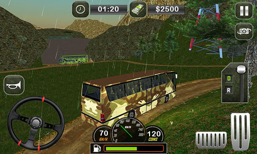 Army Bus Driving 2019 - Military Coach Transporter 1.0.8 screenshots 3