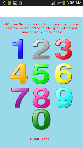 GNK Learn Numbers
