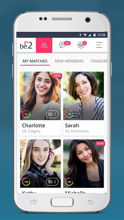 be2 – Matchmaking for singles- screenshot