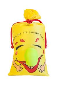 Skrattpåse XXL, gul