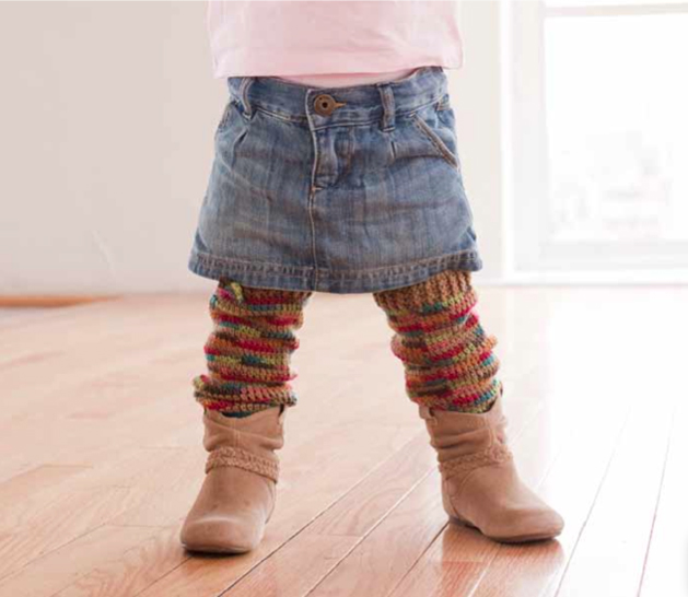Free Baby Projects: Cozy Crawlers Leg Warmers to Crochet