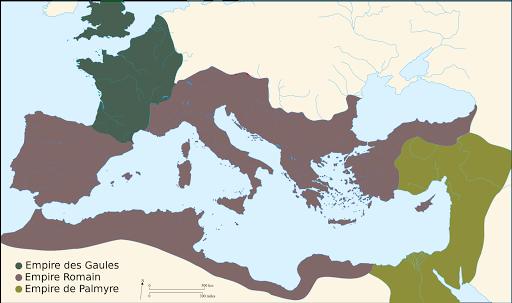 Empire romain en 268