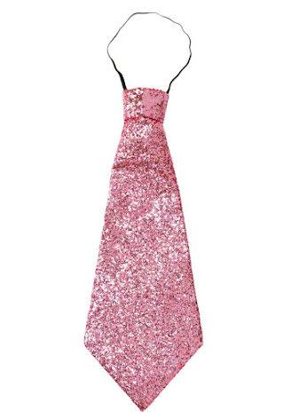 Slips, rosaglitter