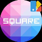 Theme Square Colorful Set #1