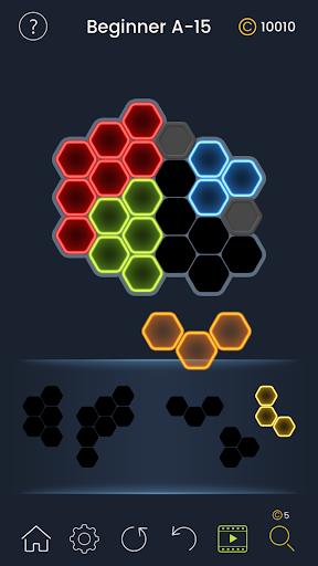 Puzzle Glow : Brain Puzzle Game Collection  captures d'écran 5