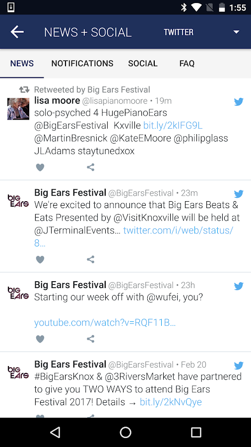 Big Ears Festival- screenshot