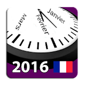 Calendrier 2016 France