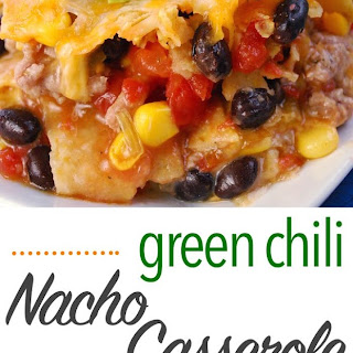 Green Chili Nacho Casserole