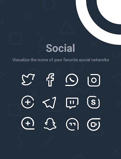 Screenshot for Linebit Light - Icon Pack in United States Play Store