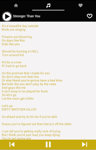 Sans Music Lyrics Undertale- screenshot thumbnail