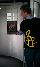 Photo: The Human Rights Flag Centre Céramique 31 March Maastricht The Netherlands: the poster