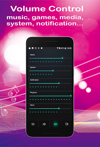 Equalizer Sound Booster Volume Booster for Android 4.7.9 screenshots 2