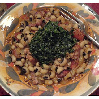 Black Eyed Pea With Collard Greens