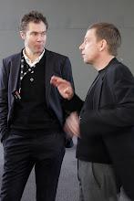 Photo: TedxAlsace -  Daniel Kaplan et Philippe Studer