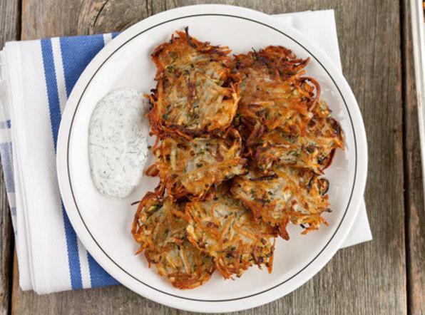 Potato And Zucchini Pancakes Recipe