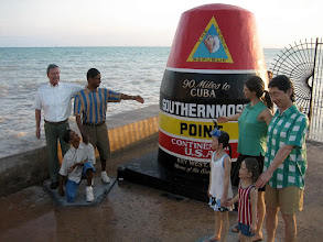 Photo: The Southernmost point of the U.S. is in Key West. From here, it is only 90 miles to Cuba and 150 miles to Miami