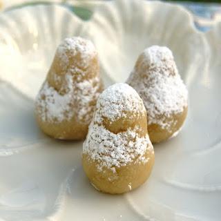 Greek Orange-Scented Almond Cookies.