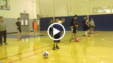 Video: TOPSocer @ The JCC - Skills, drills and practice