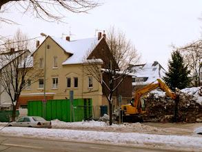 Photo: Das Grundstück hat einen Käufer gefunden, der Schutt wird bereits abgeräumt!