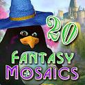 Fantasy Mosaics 20: Castle of Puzzles icon