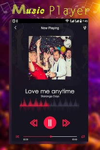 Music Player  with Sourrounding - náhled