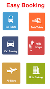 Mobile Ticket Booking - náhled