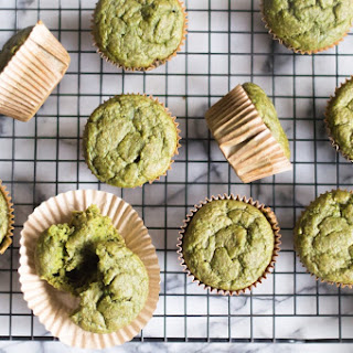 Oatmeal Green Smoothie Muffins.