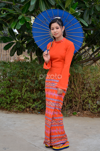 Myanmar traditional dress pictures