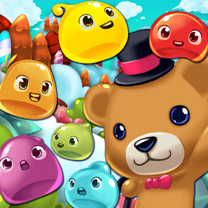 Jelly Jelly Crush – In the sky for PC and MAC