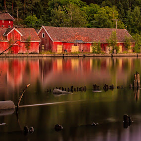 Eidet, Norway by Morten Pettersen - Landscapes Waterscapes ( eidet, norway )
