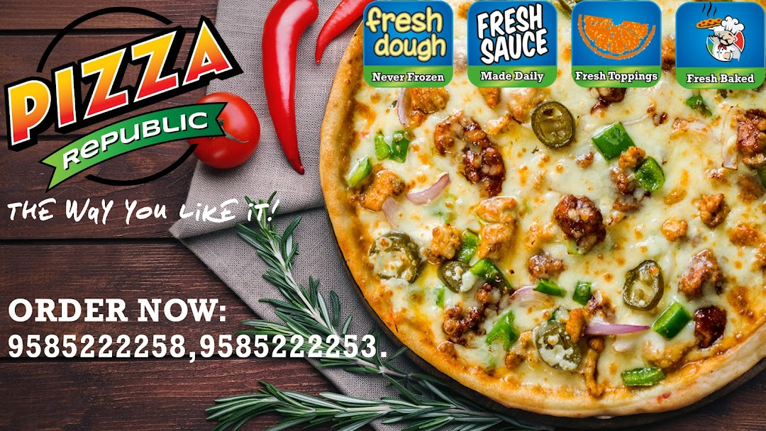 Pizza Republic TIRUPUR - ITALIAN PIZZA RESTAURENT