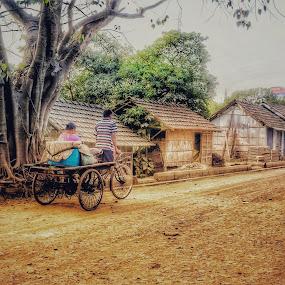 Village by Sumita Mehera - People Street & Candids (  )