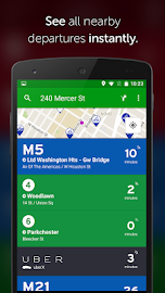 Transit App: Metro, Bus, Bike Screenshot 1
