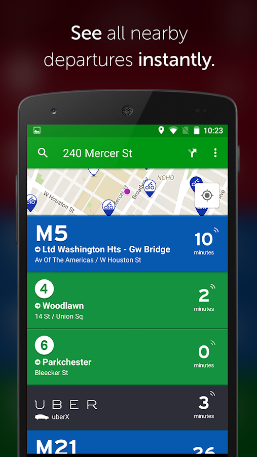 Transit App: Metro, Bus, Bike - screenshot