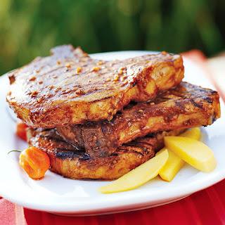 Spicy Grilled Pork Chops.
