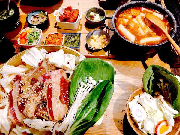 野川韓國食堂 永安市場站