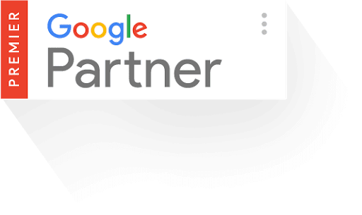 """Google"" partnerio ženklelis"