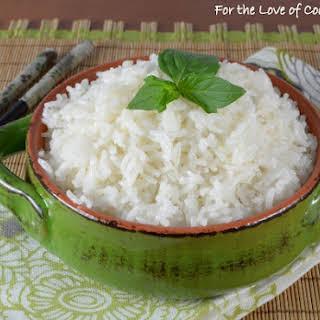 Lemongrass Coconut Rice.