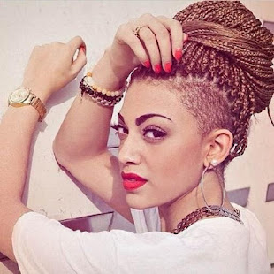 Box Braid Undercut Hairstyles Applications Sur Google Play