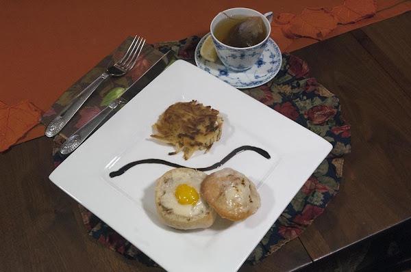 Yummy Breakfast In A Bread Bowl Recipe
