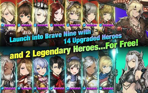 Brave Nine - Tactical RPG apkpoly screenshots 12