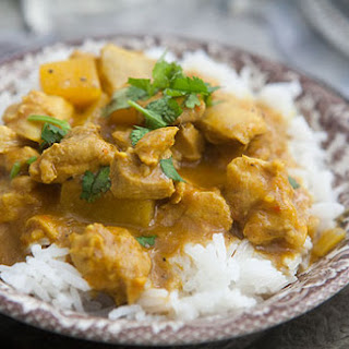Mango Chicken Curry.