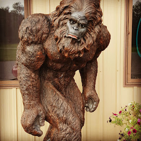 Sasquatch by Suzette Christianson - Buildings & Architecture Statues & Monuments (  )
