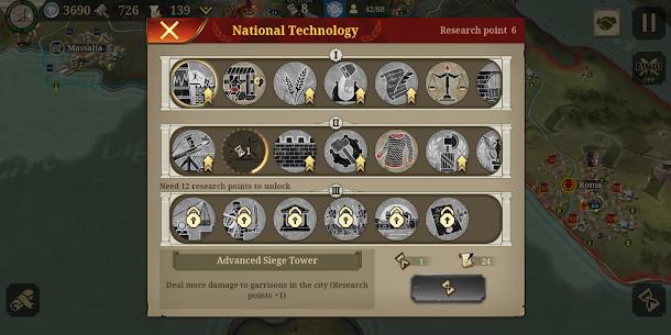 Great Conqueror: Rome Mod Apk 2.0.0 (Unlimited Medals) 8